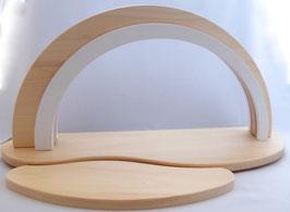 Holz-Design-LED Bogen