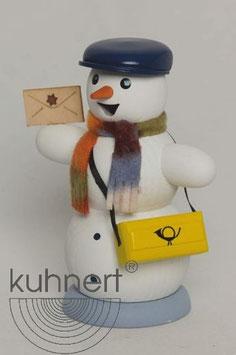 Schneemann Briefträger