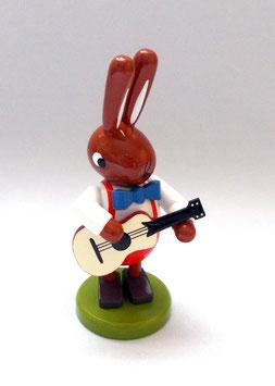 Hase mit Gitarre