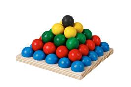 Kugelspiel aus Holz