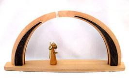 LED- Bogen mit Kirschbaumengel und Stern zum selbst Bestücken