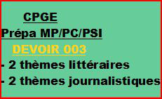 Cours à distance, 4 traductions pour CPGE/MP/PC/PSI -devoir 003/T/MP/PC/PSI