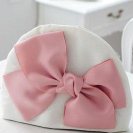 【E-style オリジナル】ティーコージー グログランリボン ピンク