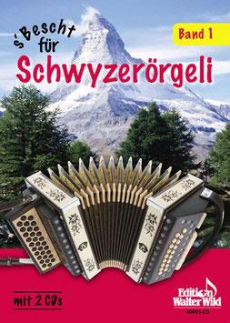 S'Bescht für Schwyzerörgeli Band 1