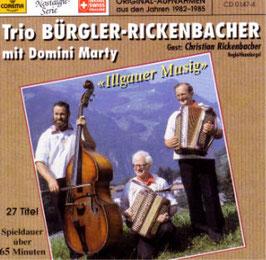"""Bürgler-Rickenbacher """"Illgauermusig"""""""