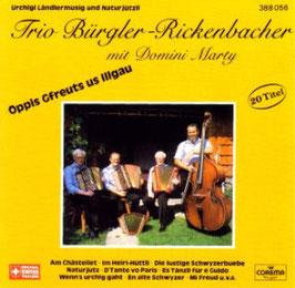 "Bürgler-Rickenbacher ""Öpis gfreuts us Illgau"""