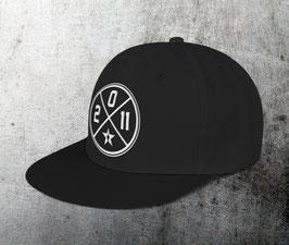 "snapback cap ""circle"", black"