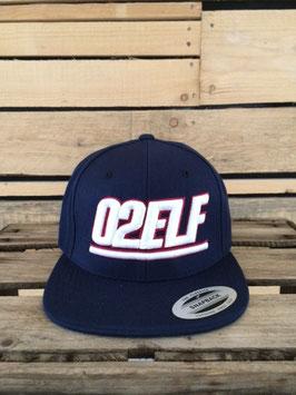 "snapback cap ""02elf"", navy"