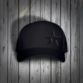 "original flexfit cap ""star"", blackIblack"