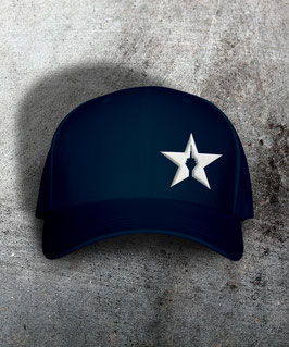 "original flexfit cap ""star"", dark navy"