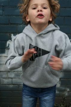 """kids hoodie """"yeah"""""""