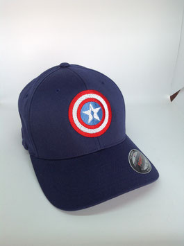 "NEU!!! original flexfit cap ""starcircle"", navy"