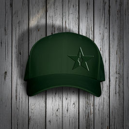 "NEU!!! original flexfit cap ""star"", forest"