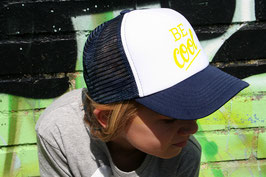 "kids mesh cap ""be cool"""