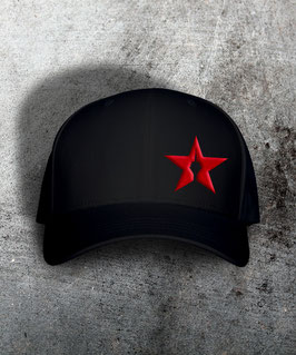 "original flexfit cap ""star"", black"