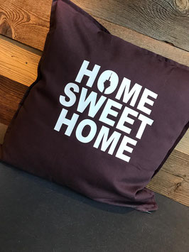 "kissen ""home sweet home"""