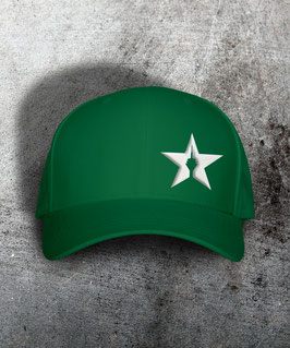 "original flexfit cap ""star"", kelly green"