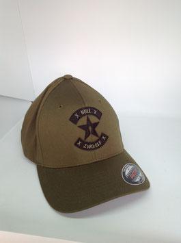 "NEU!!! original flexfit cap ""xxxx"", olive"