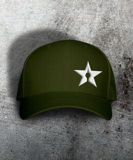 "original flexfit cap ""star"", olive"
