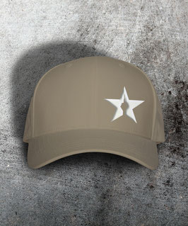 "original flexfit cap ""star"", sand"