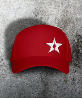 "original flexfit cap ""star"", red"