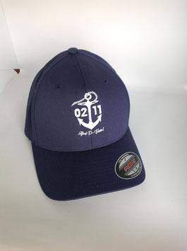 """NEU!!! original flexfit cap """"ahoi"""", navy"""