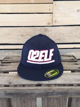 "210 fitted fullcap ""02elf"", navy"