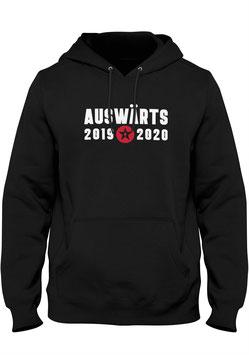 0211 AUSWÄRTS hoodie, black