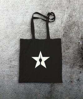 "baumwollbeutel ""star"" black"