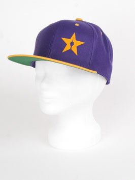 "snapback cap ""the purple one"""