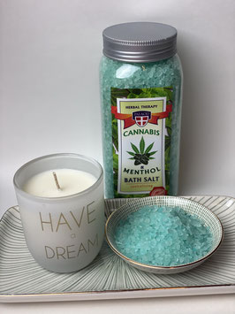 Cannabis Badesalz