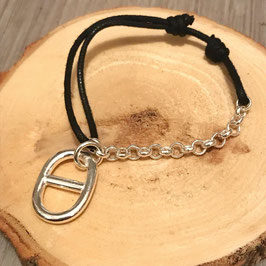 Bracelet Demi-chaîne Maille