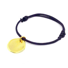 Bracelet médaille or