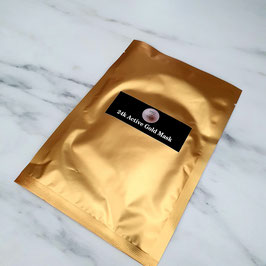 Masque tissu 24K Gold