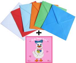 Hi Dolly - Grußkarte mit Kuvert