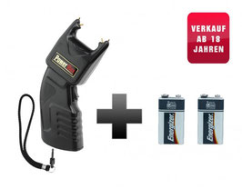 Elektroschocker Power Max 500.000V mit PTB Zulassung