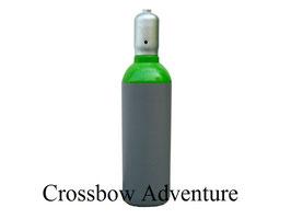 5 l Pressluftflasche 300bar gefüllt mit Tragegriff