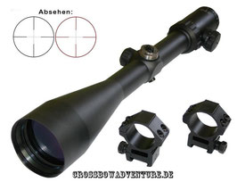 MAJESTIC Zielfernrohr 2,5-10x56IR Scope