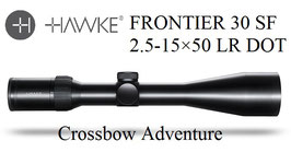 HAWKE® Frontier 30SF 2,5-15x50 Absehen LR Dot
