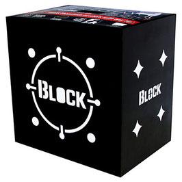 """Field Logic Block Black  """"M"""" 40x40x30cm"""
