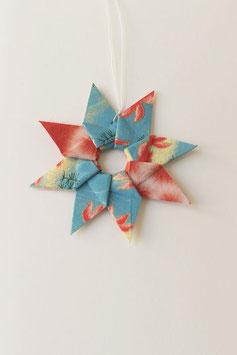 Grußkarten: Sternenzauber, Kranzbotschaft, Liebesgruß - Origami-Elemente sind abnehmbar