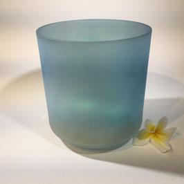 """Aqua Aura Gold/Selenite 7"""" G# -45"""