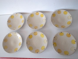 Plate (Set of 6) 13*13*2cm