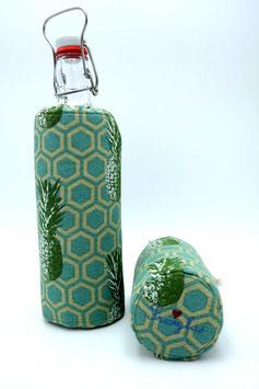 Flaschenbezug - Ananas