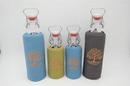 """Flaschenbezug für 0,5L oder 1L Flaschen """"Baum"""""""