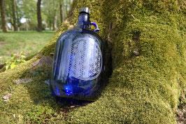 Henkelflasche - healing water - Blume des Lebens