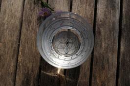 Trink Glas mit dem Samen des Lebens, 340ml