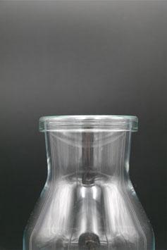 Glasdeckel flach