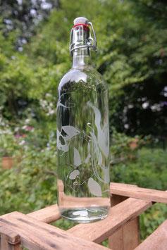 1 L Glasflasche, Kois - Nishikigoi