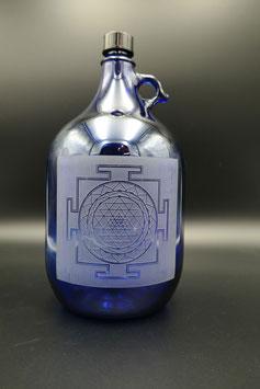 Henkelflasche - Shri Yantra